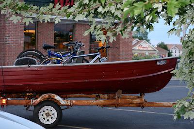 bikes in a boat