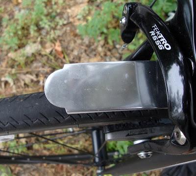 homemade metal bicycle fenders