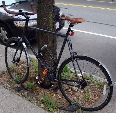 homemade DIY metal bicycle fenders