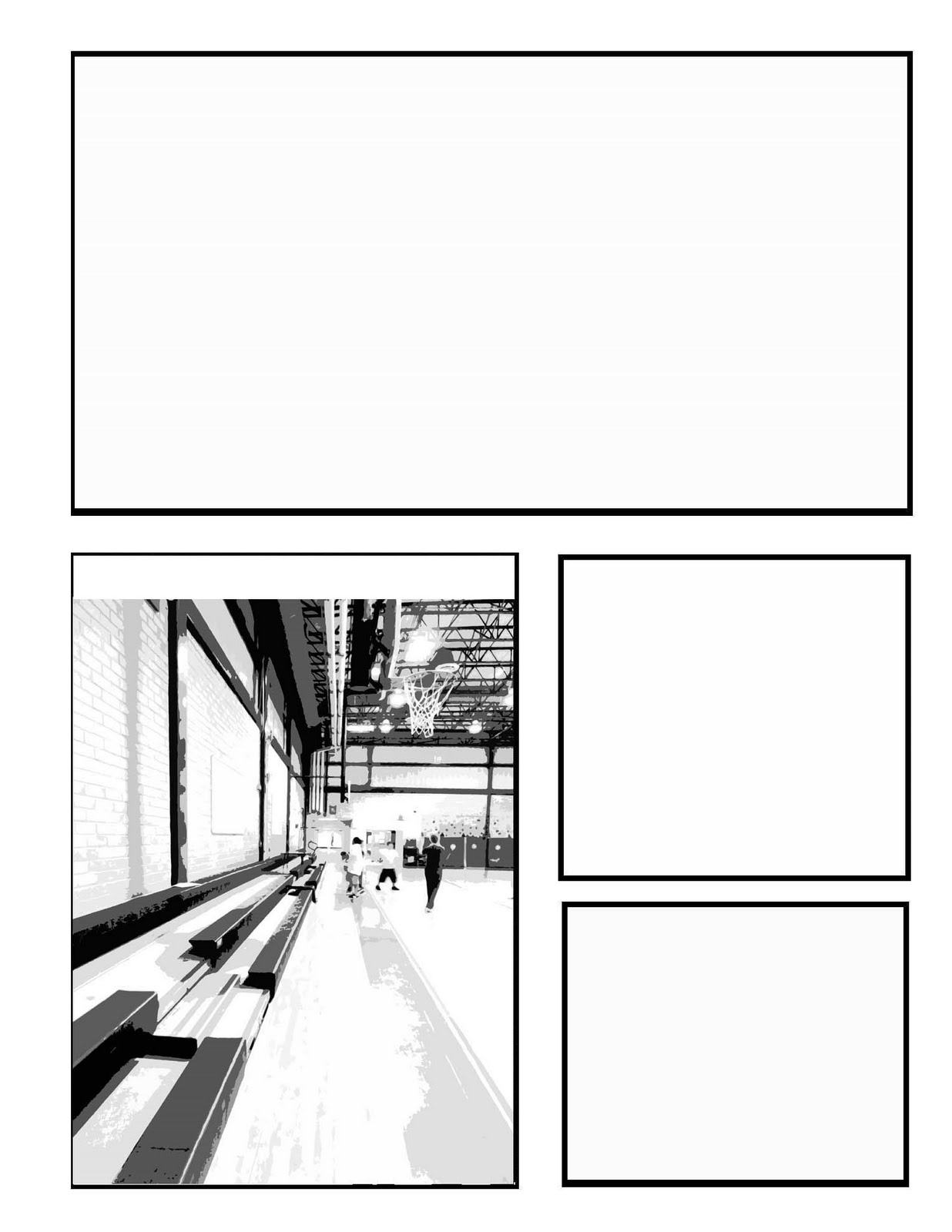 Comic Template With Drawings Comic page templates below