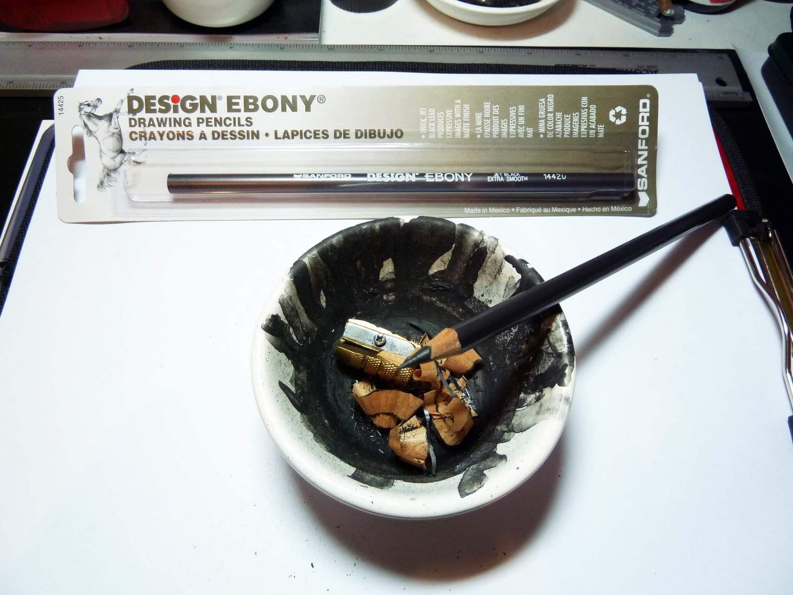 Sanford design ebony 14420 drawing pencil doodle tests and video