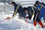 FOTO / RUGBY: La dat zăpada, pe Tineretului (4 februarie 2010)