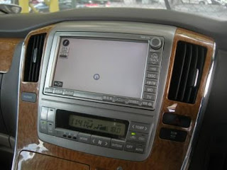 Toyota Alphard Original Head Unit
