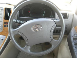 Toyota Alphard Dashboard View