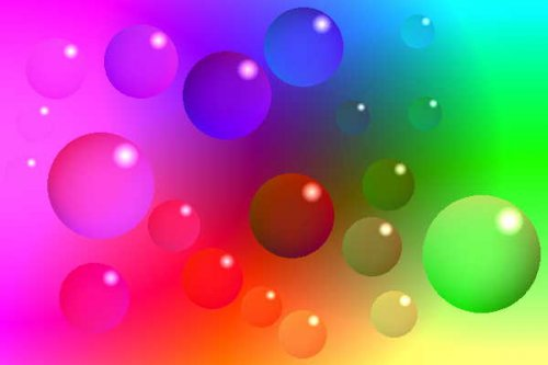 Bubbles Colorful Background Wallpapers | Colorful ...