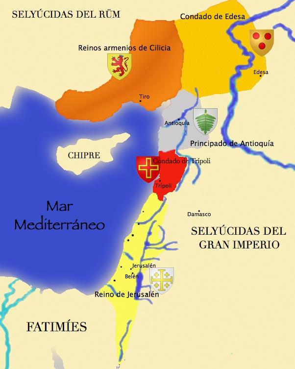 Tierra Santa Mapa+corto