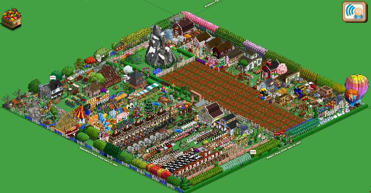 Farmville Optical Illusion