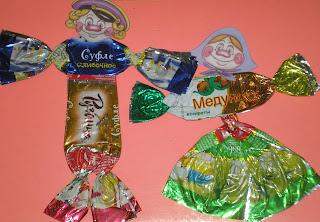 Как сделать фантики для конфет своими руками