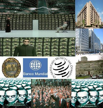 Las 3 Máquinas de los Arquitectos Capitalistas(Matrix) son visibles