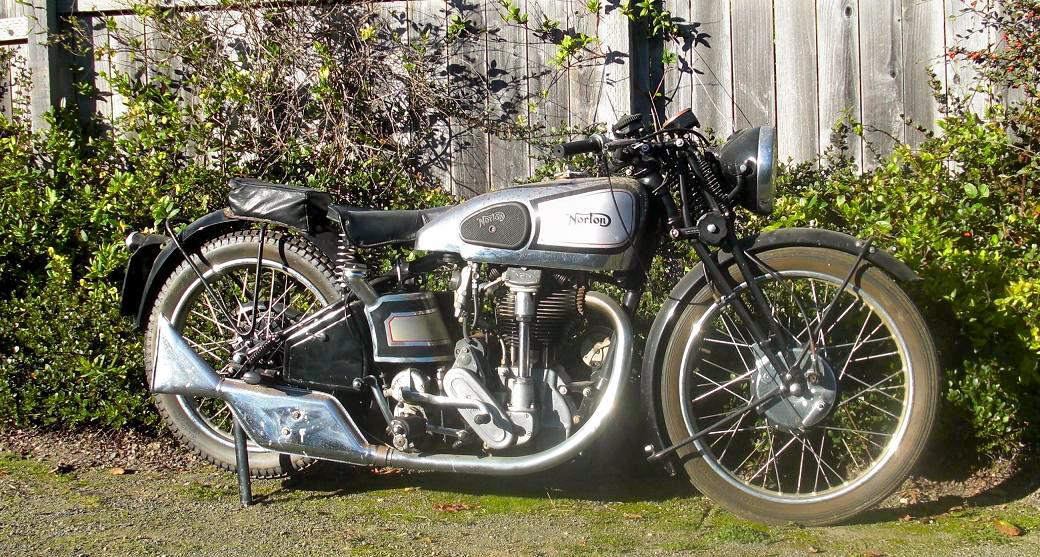 Vintage Norton Motorcycles 1937 Model 30 Norton