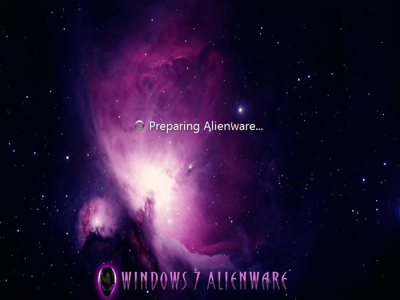 os windows 7 alienware