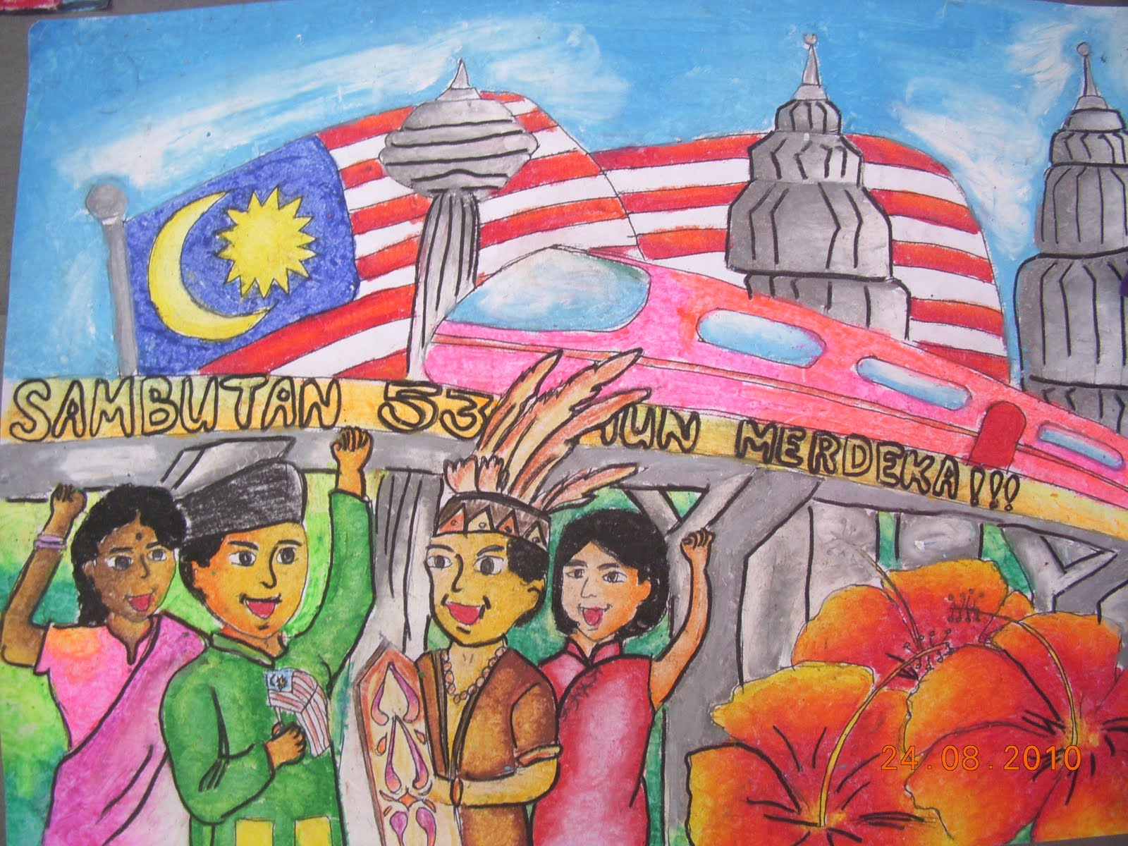 Download image Lukisan Poster Kemerdekaan Terkini PC, Android, iPhone ...