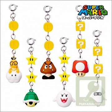mario bros characters. Fancy Super Mario Bros items