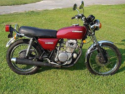 Kawasaki+KZ200+A1+2 Kawasaki KZ200 A1 1977 1978