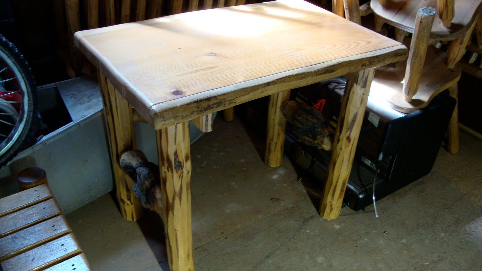 Log Furniture For Sale Log Desk 300
