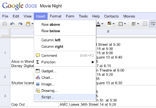 google drive blog apps script gallery for google spreadsheets