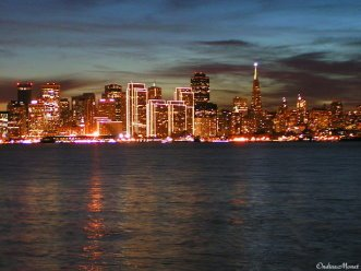 San Francisco By Twilight December 2008