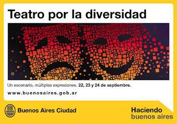 """Teatro por la Diversidad """"Un escenario, Múltiples Expresiones"""""""