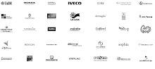 Trabajos realizados para las siguientes marcas, entre otras: