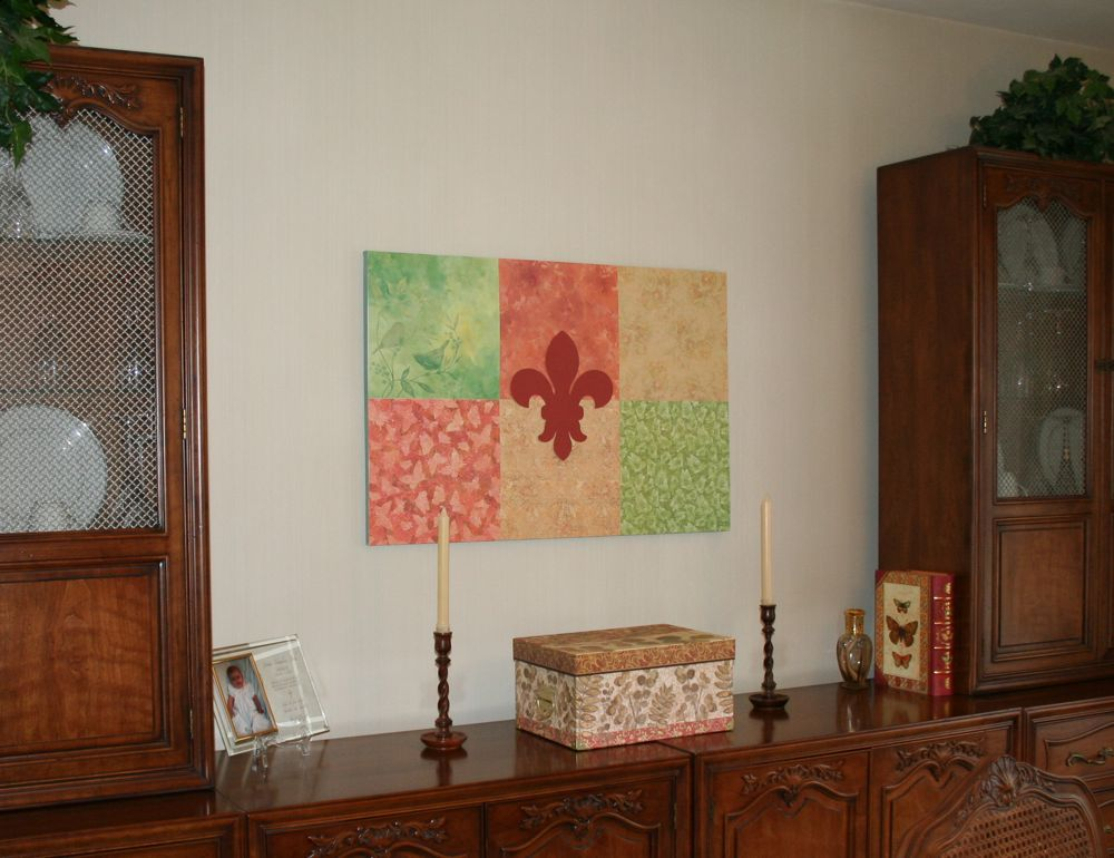 Sew Can Do: Craft Cheat Tutorial: Easiest Wall Art EVER!