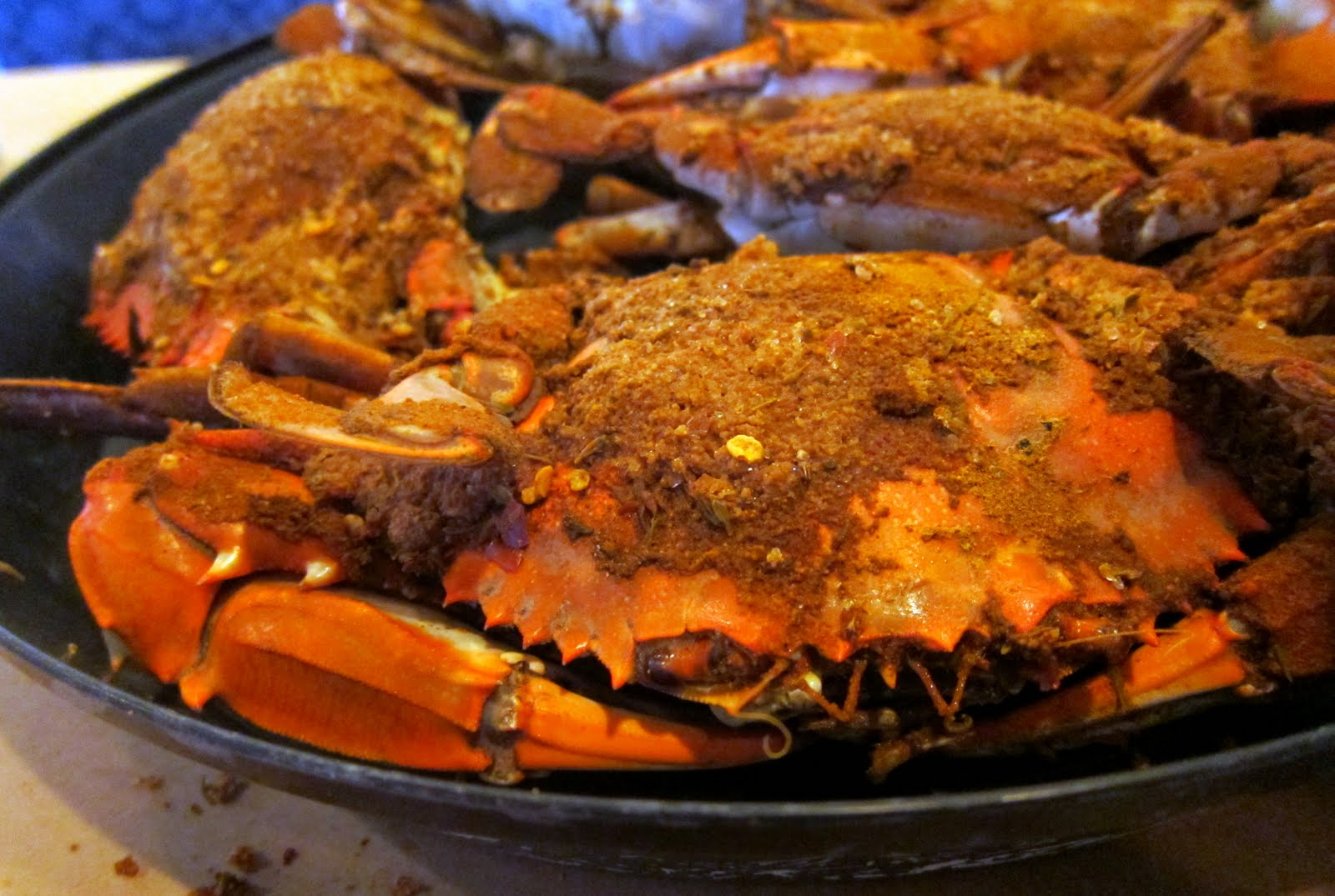 ... steamed crabs kusina maria basic steamed blue crabs recipe chowhound