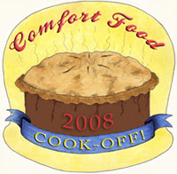 2008 Comfort Food Cook-Off Cook, original logo by Eve Fox
