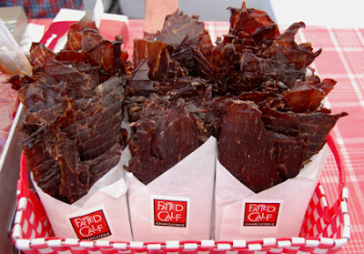 Photo of packets of beef jerky