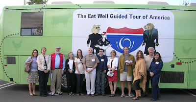 Eat Well Guided Tour Bus, photo courtesy of Sustainable Table