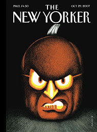 Photo of the cover of the October 29, 2007 issue of The New Yorker, courtesy of The New Yorker.