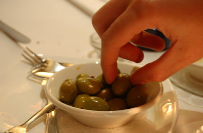 Very tasty olives