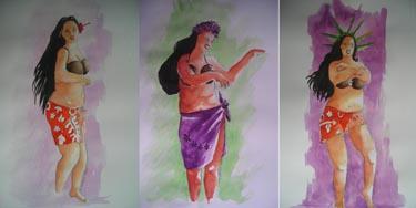 vahinés qui dansent