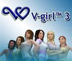 Artificial Life V-girl™3 for nokia S60v3 [18+] 240×320 free download