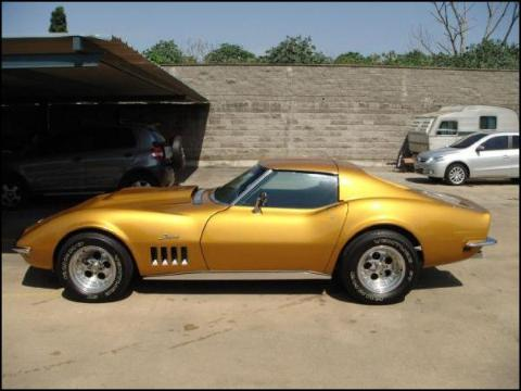 Corvette Stingray 1968 on Et Europ  Ennes Classiques  Chevrolet Corvette Stingray  1968  Usa