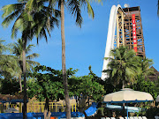 Beach Park Fortaleza. Yeah Kim und da sind wir runter gerutscht!