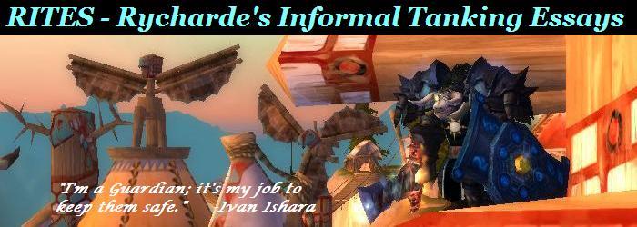 RITES - Rycharde's Informal Tanking Essays