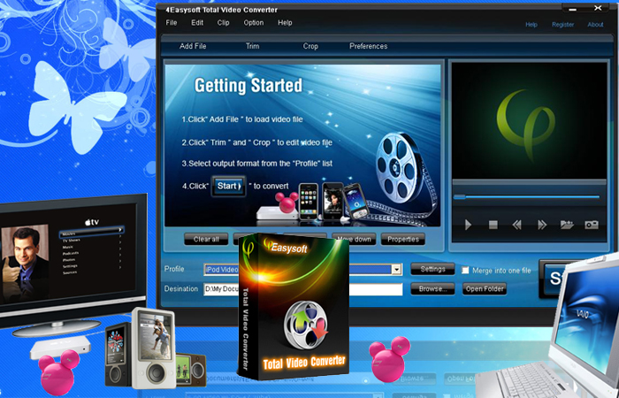 TOTAL VIDEO CONVERTER HD Abc