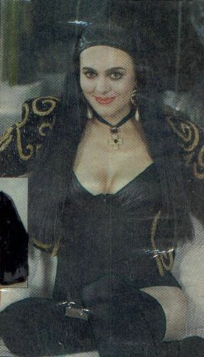 Maribel Guardia con medias y pantimedias