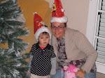 Disfrutando de nuestra primera navidad