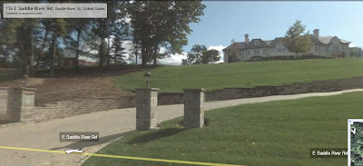A look at Saddle River mansions using Google Street View