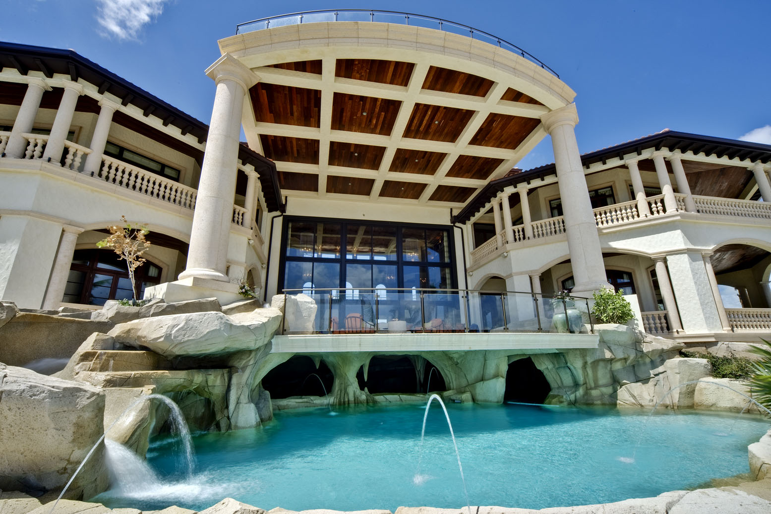 Cayman islands mega mansion homes of the rich for Luxury house