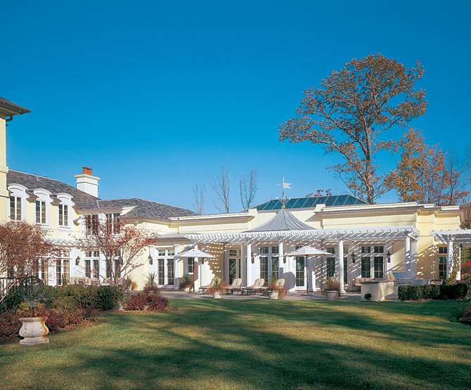 A look at a french manor in prestigious alpine homes of for Alpine nj celebrity homes