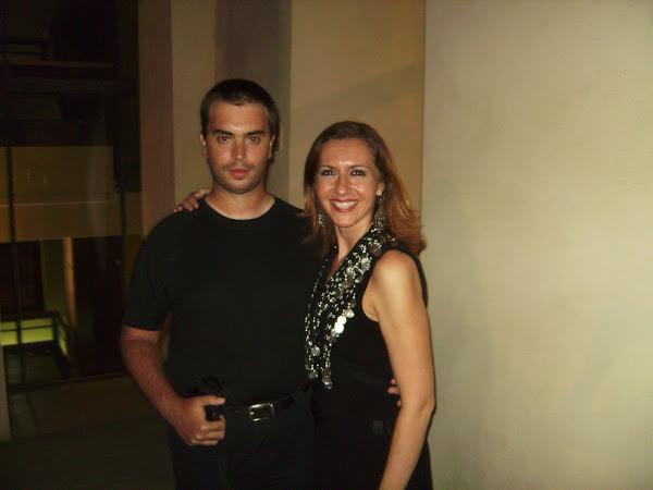 Javi y Jasmina Petrovic verano 2009