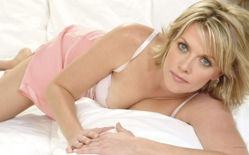 and Amanda Tapping is not