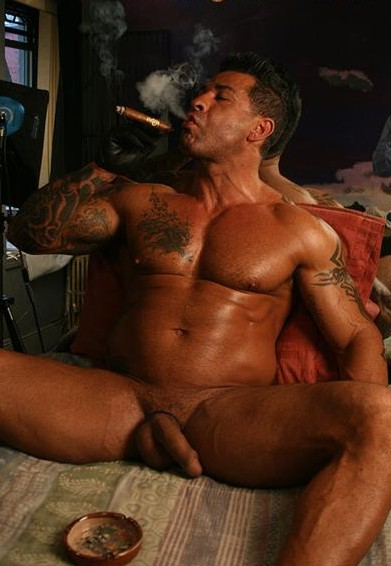 cigar smoking gay