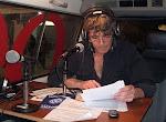 Carlos Monterroso durante la emisión de La Bruja