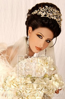 maquiagem de odalisca em noiva