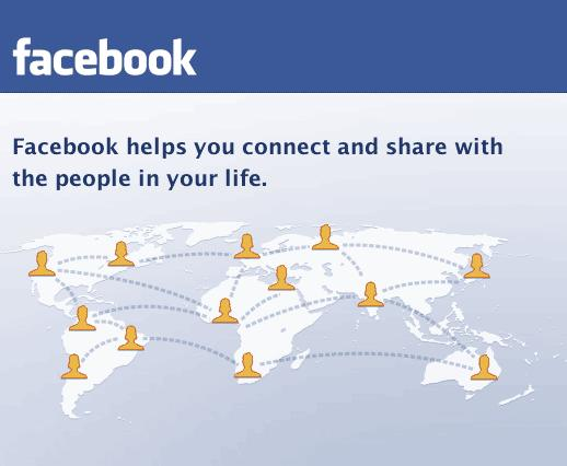 facebook login page. on Facebook Login Page!