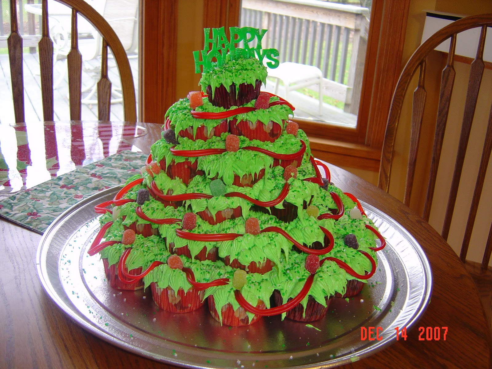 Christmas Tree Decoration For Cake : funny christmas cards: Christmas Tree Cake
