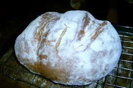 Kovászos rozsos kenyér