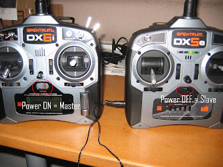 Tales of an RC muppet: Using a DX5e and DX6i as a Buddy Box system